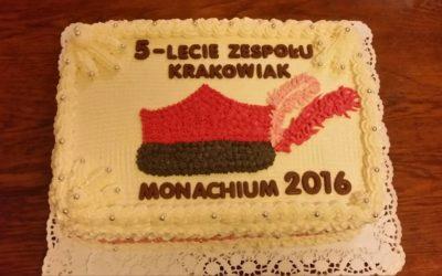 """Jubileusz 5-lecia działalności Dziecięcego Zespołu Pieśni i Tańca """"Krakowiak"""""""