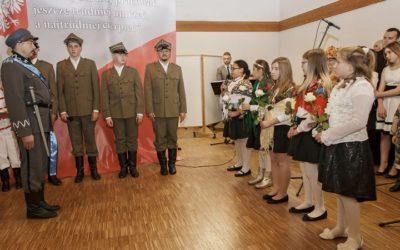 Inscenizacja z okazji 99. rocznicy odzyskania przez Polskę Niepodległości