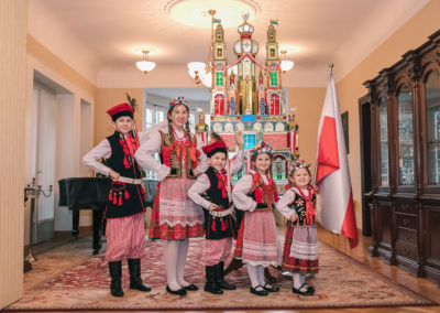 Szopka krakowska w Konsulacie RP w Monachium